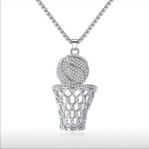 Women/Men's  silver necklace
